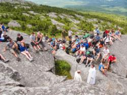 Hike, Mass bring young adults closer to God through nature