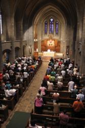 Perpetual Adoration in Boston marks fifth anniversary at St. Clement's