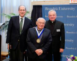 Brandeis honors founder of liberation theology