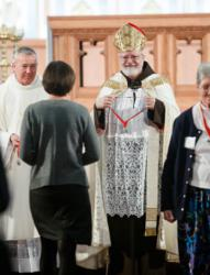 Cardinal presents Cheverus Medals for service