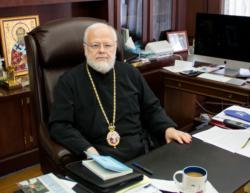 Boston Greek Orthodox leader shares experience of papal trip