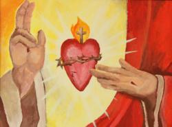 Local men spread devotion to Jesus' Sacred Heart