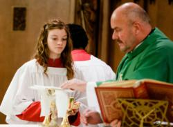 Boy and girls altar servers each have a role to play, say local pastors