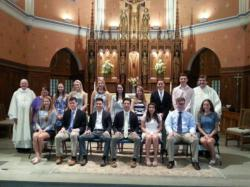 Marblehead parish presents youth ministry scholarships