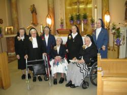 The Sisters of the Presentation of Mary -- Then and now