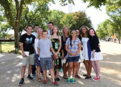 Archbishop Williams students witness history in Washington