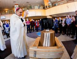 Bell for new South Boston Seaport Chapel blessed