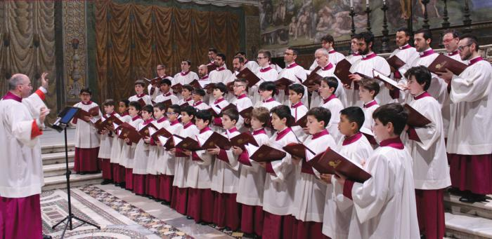 Image result for the sistine chapel choir tour 2018
