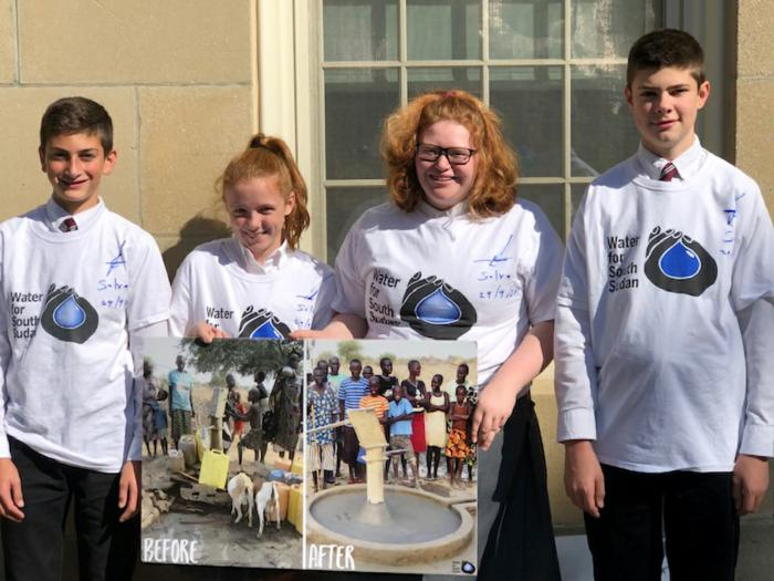Forming the Future: St. Joseph School students help bring clean water to South Sudan
